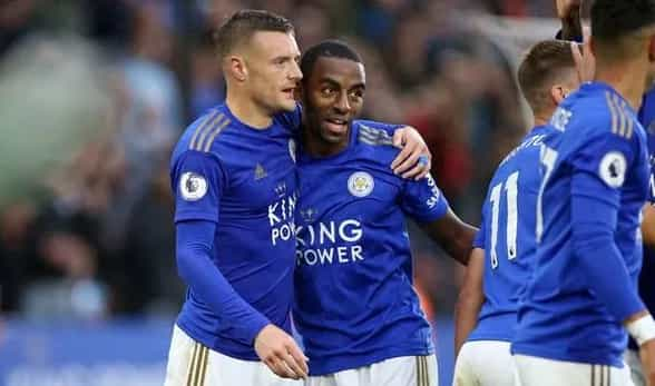 #Leicester 5-0 #Newcastle: Five-star Foxes run riot against 10-man Magpies to move to third