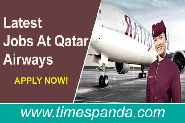 Latest Jobs In Qatar Airways