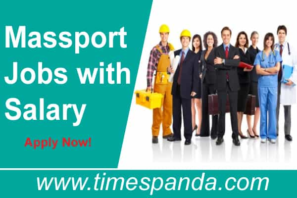Massport Jobs with Salary