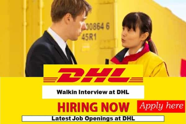 DHL JOBS IN PAKISTAN