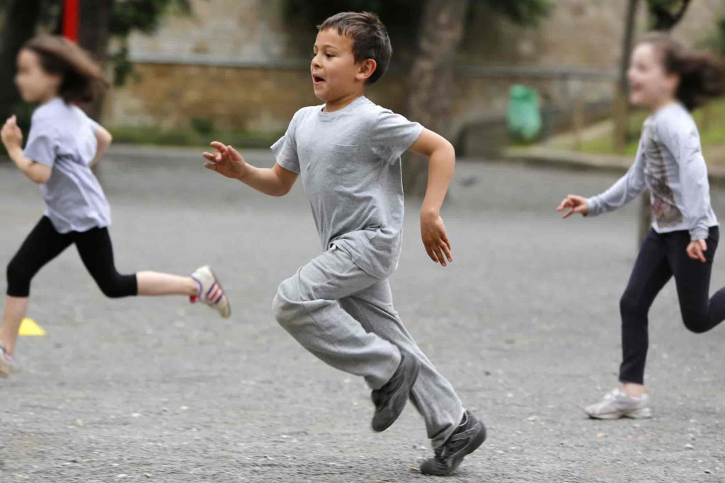 Exercise is Important for Children to do Daily