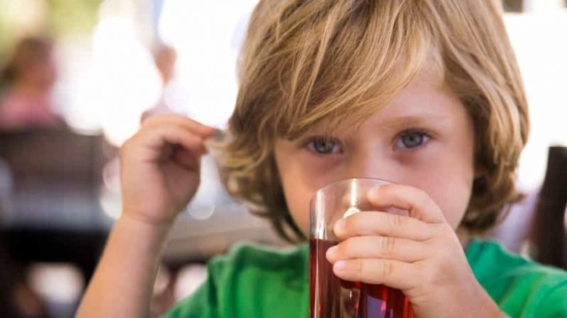 What is bad about concentrated juice?