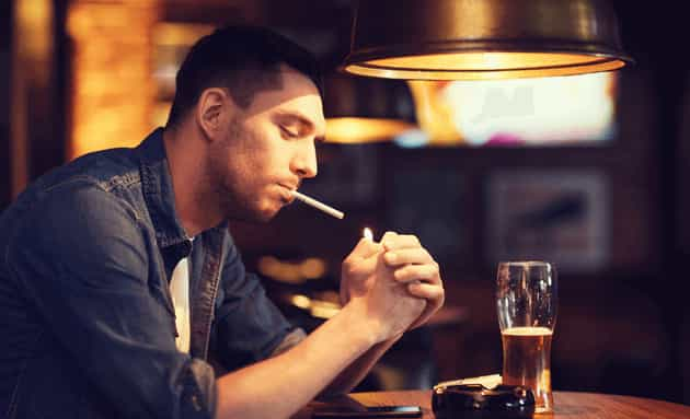 Smoking Cause Low Testosterone in Men